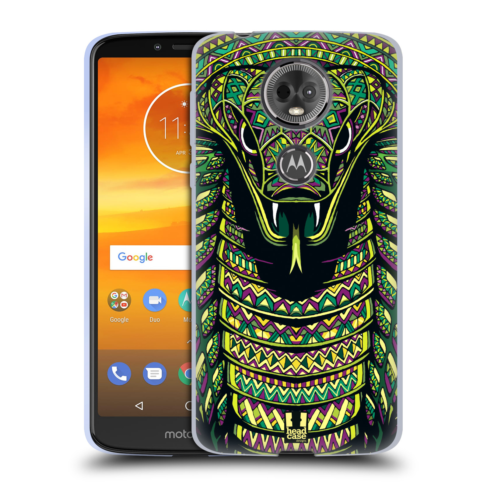 Silikonové pouzdro na mobil Motorola Moto E5 Plus - Head Case - AZTEC HAD
