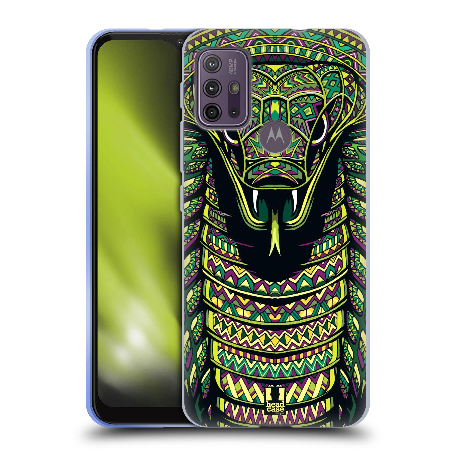 Silikonové pouzdro na mobil Motorola Moto G10 / G30 - Head Case - AZTEC HAD