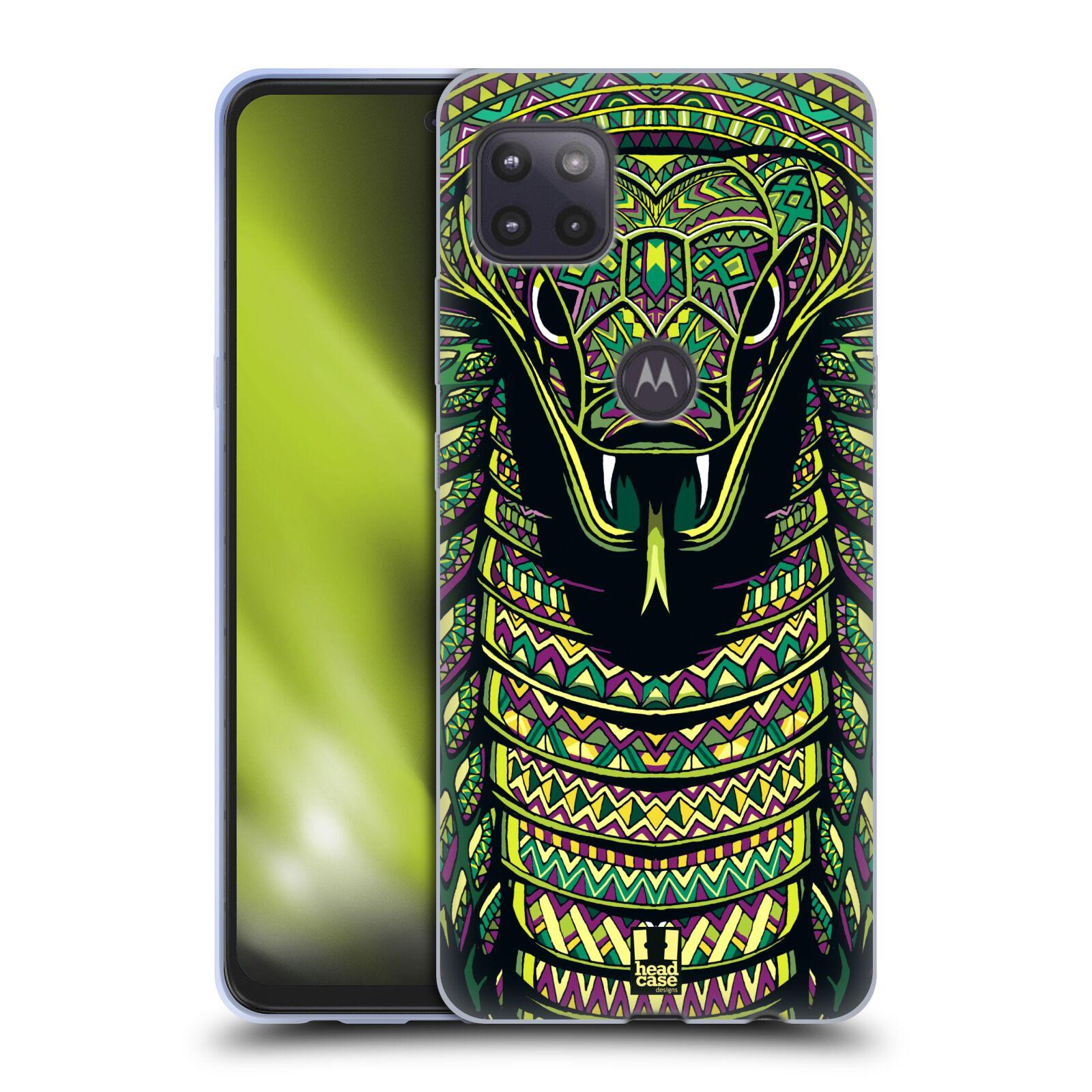 Silikonové pouzdro na mobil Motorola Moto G 5G - Head Case - AZTEC HAD