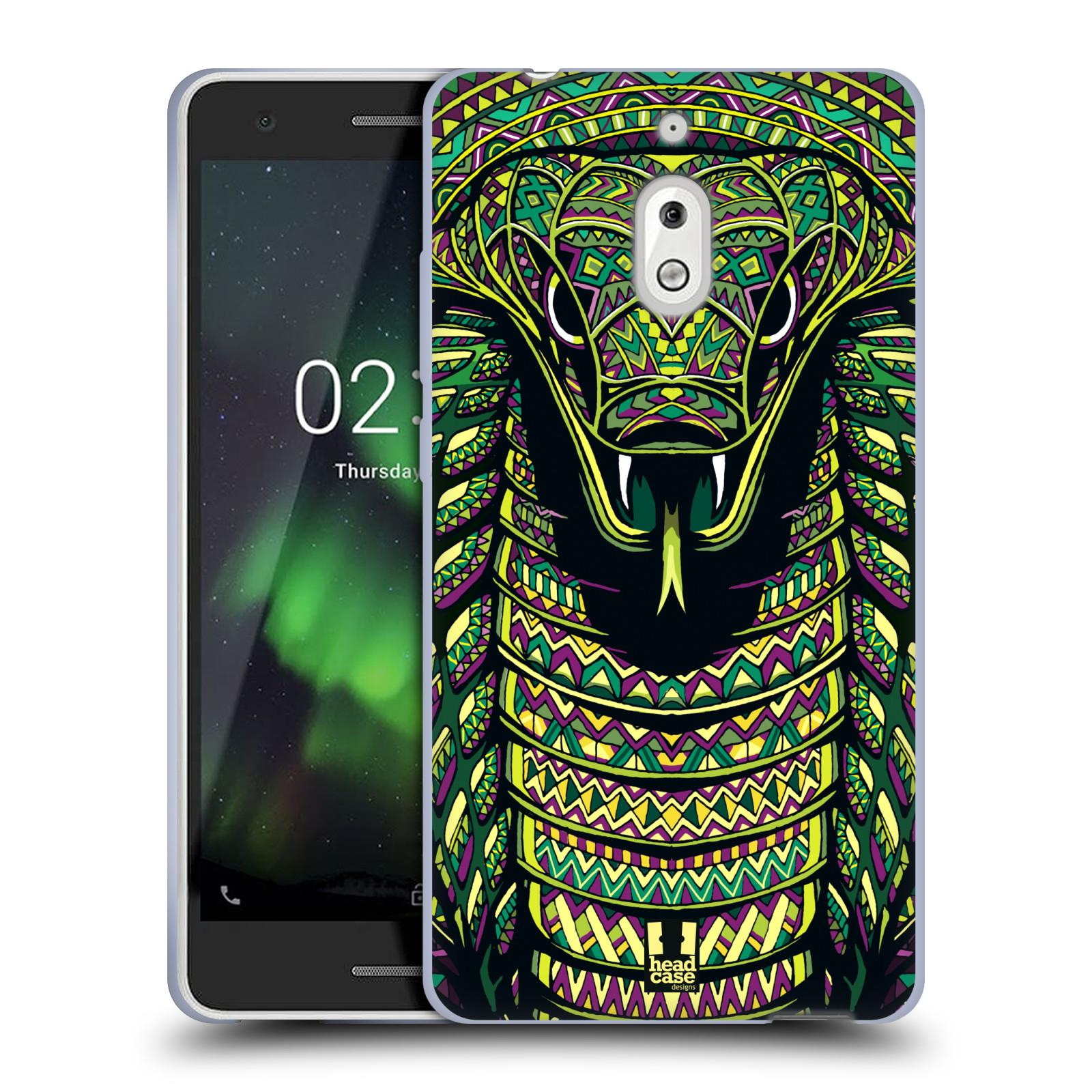 Silikonové pouzdro na mobil Nokia 2.1 - Head Case - AZTEC HAD
