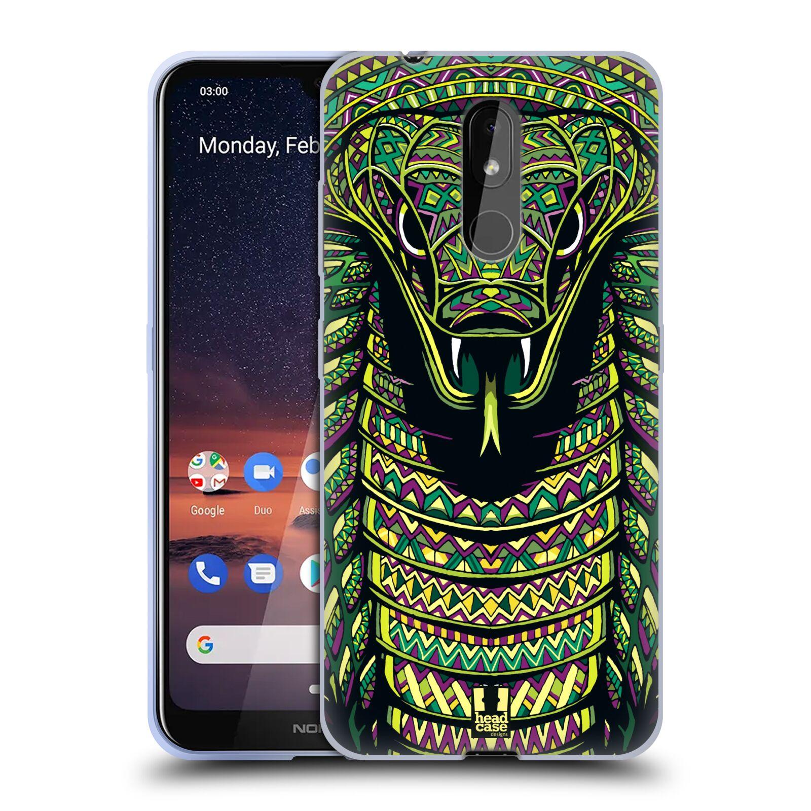 Silikonové pouzdro na mobil Nokia 3.2 - Head Case - AZTEC HAD