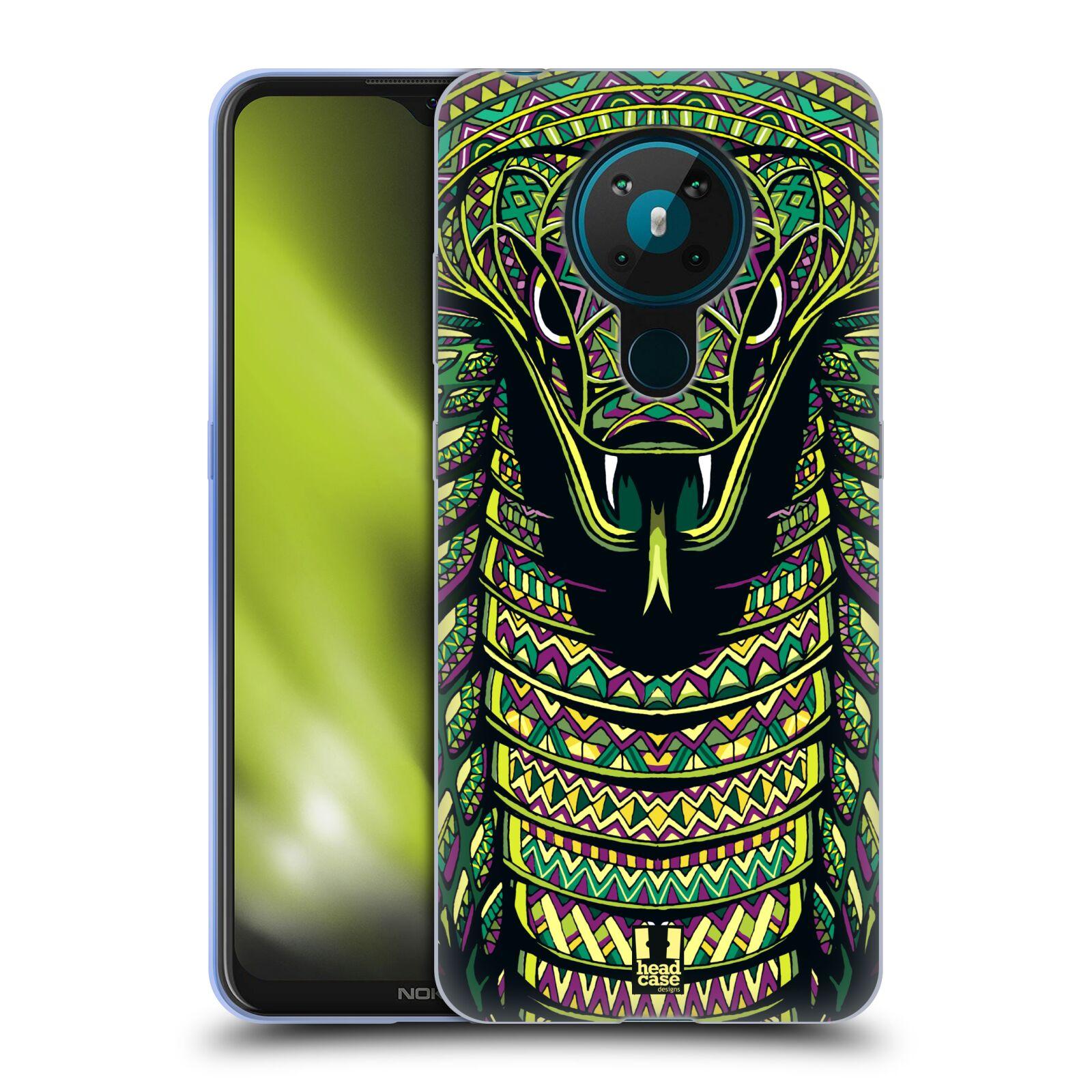 Silikonové pouzdro na mobil Nokia 5.3 - Head Case - AZTEC HAD