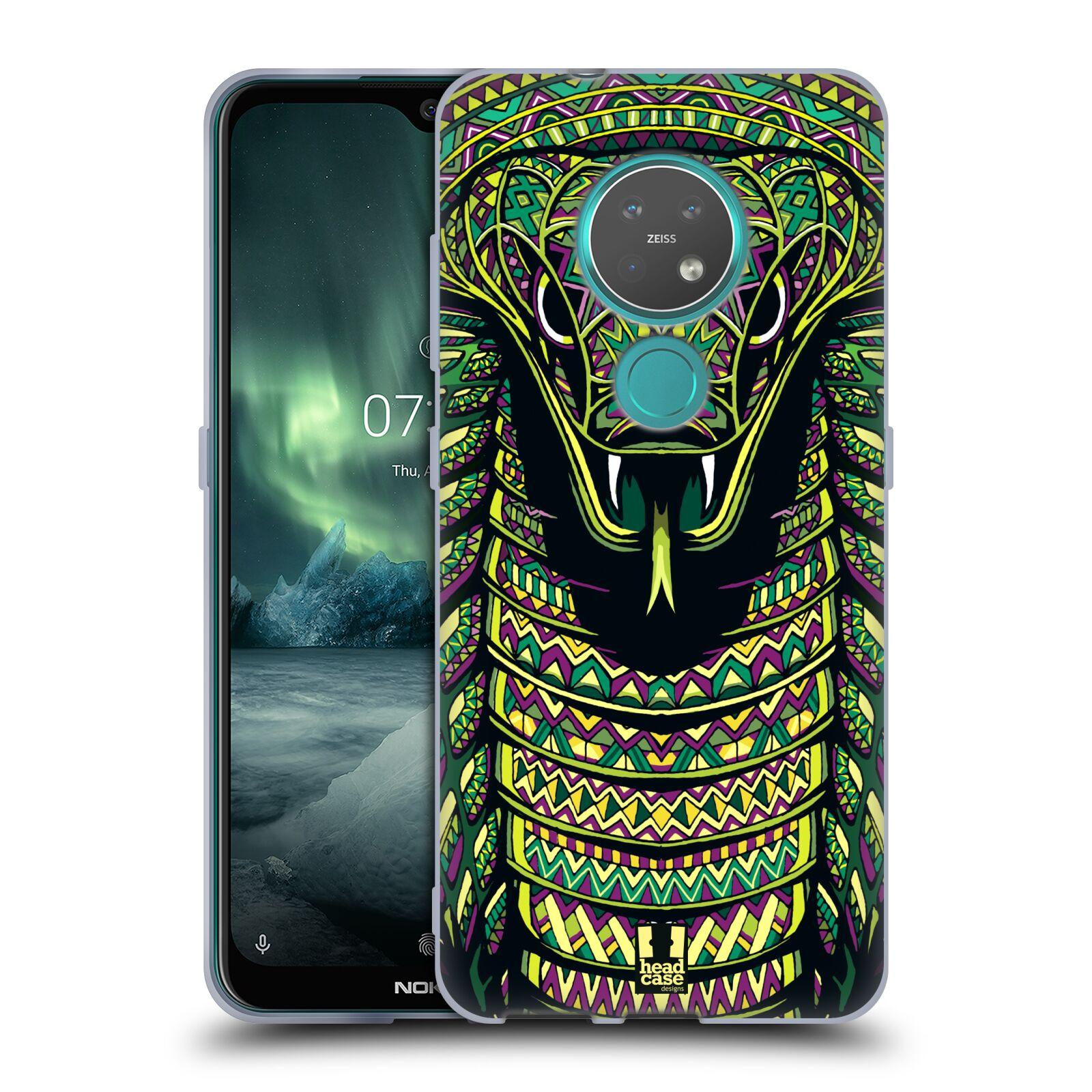 Silikonové pouzdro na mobil Nokia 7.2 - Head Case - AZTEC HAD