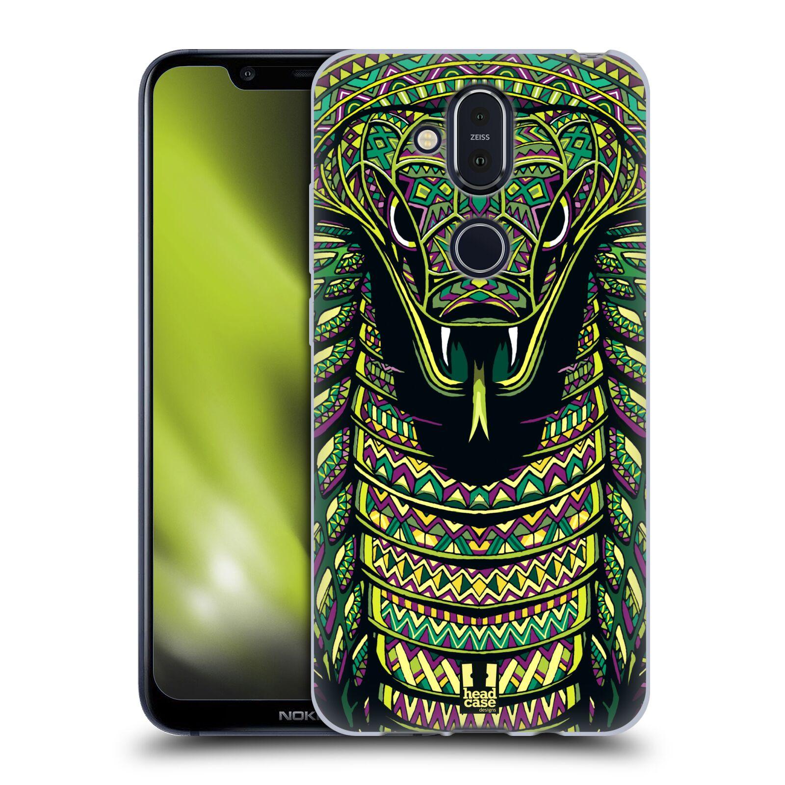Silikonové pouzdro na mobil Nokia 8.1 - Head Case - AZTEC HAD