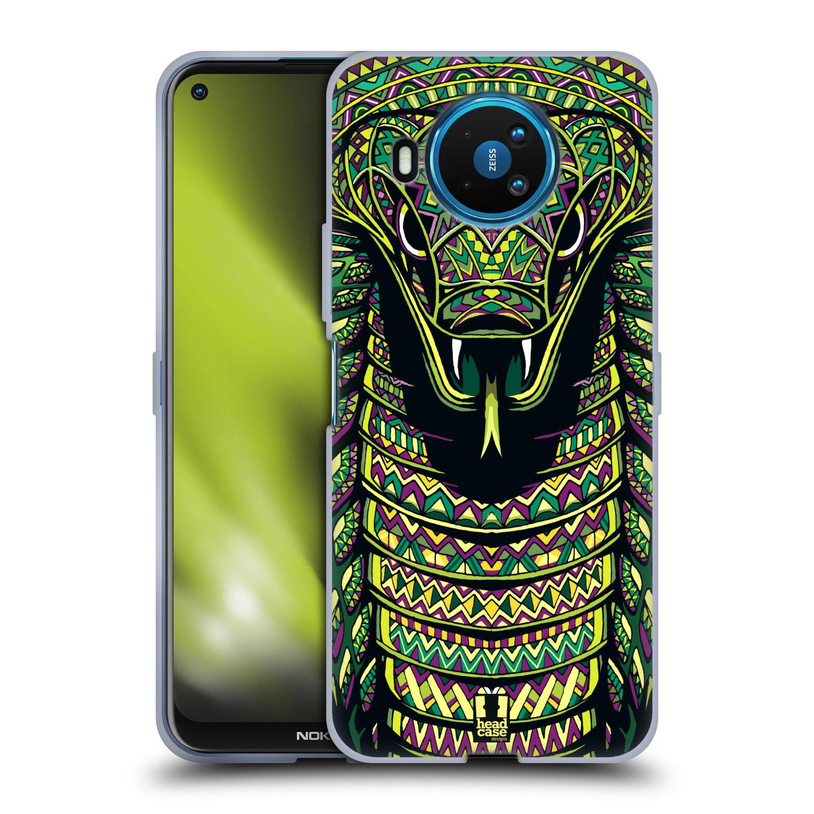Silikonové pouzdro na mobil Nokia 8.3 5G - Head Case - AZTEC HAD
