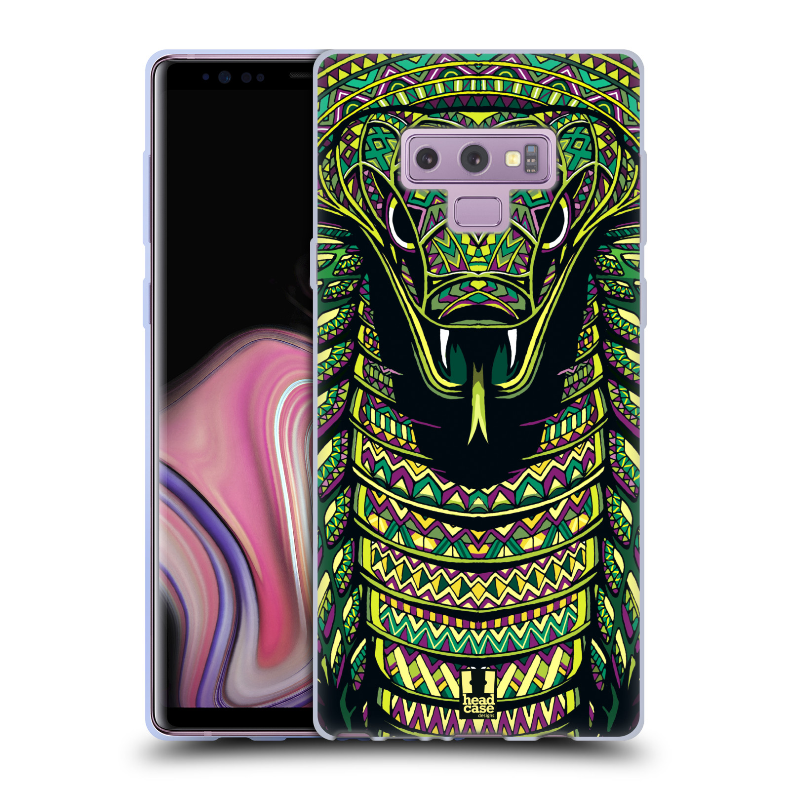 Silikonové pouzdro na mobil Samsung Galaxy Note 9 - Head Case - AZTEC HAD