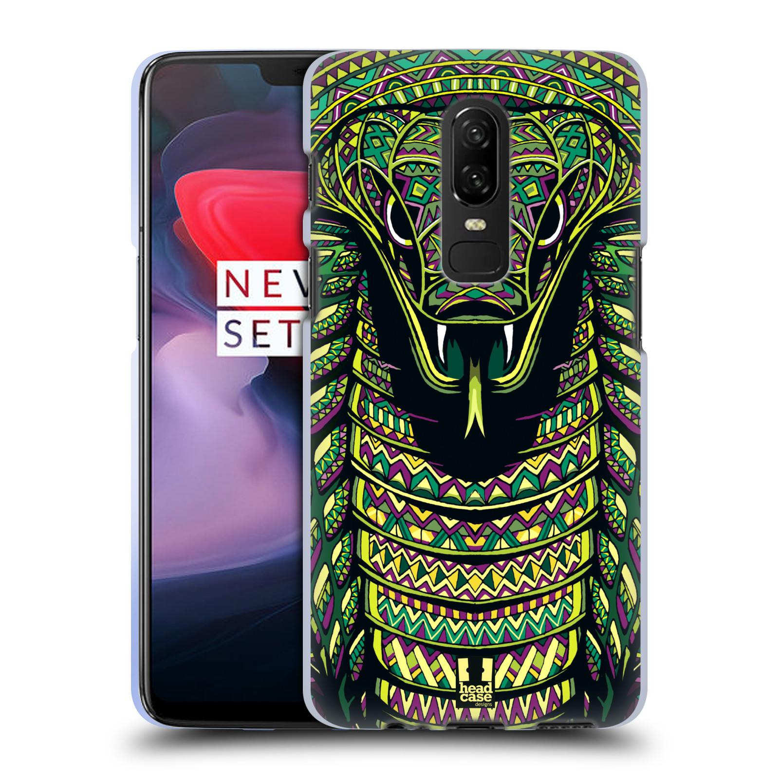 Silikonové pouzdro na mobil OnePlus 6 - Head Case - AZTEC HAD