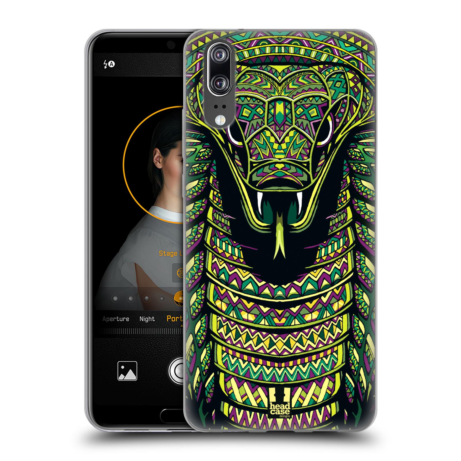 Silikonové pouzdro na mobil Huawei P20 - Head Case - AZTEC HAD