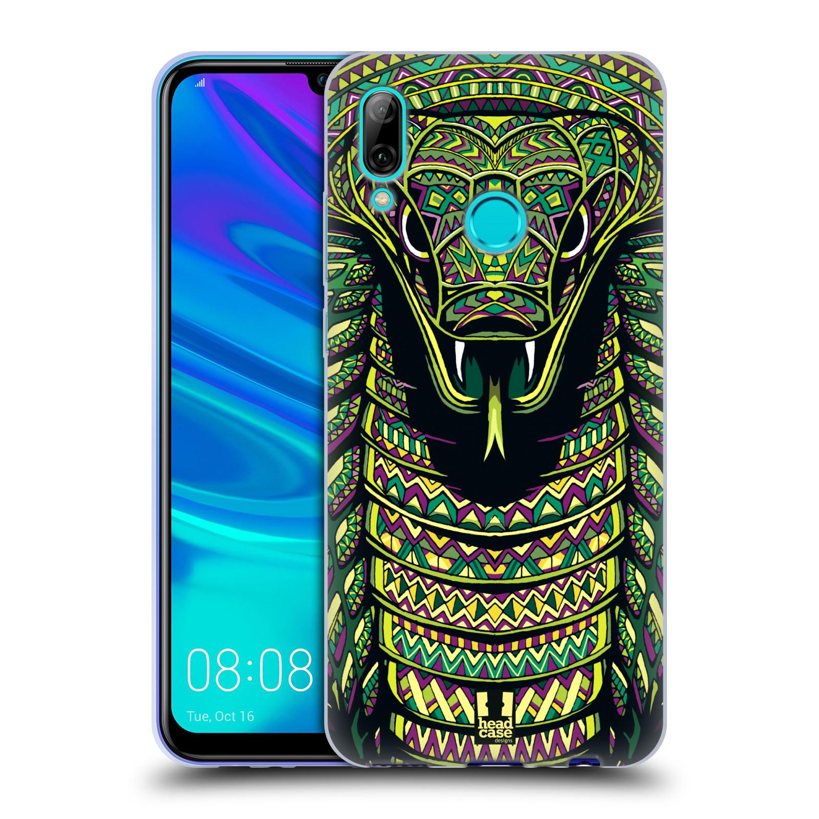 Silikonové pouzdro na mobil Huawei P Smart (2019) - Head Case - AZTEC HAD