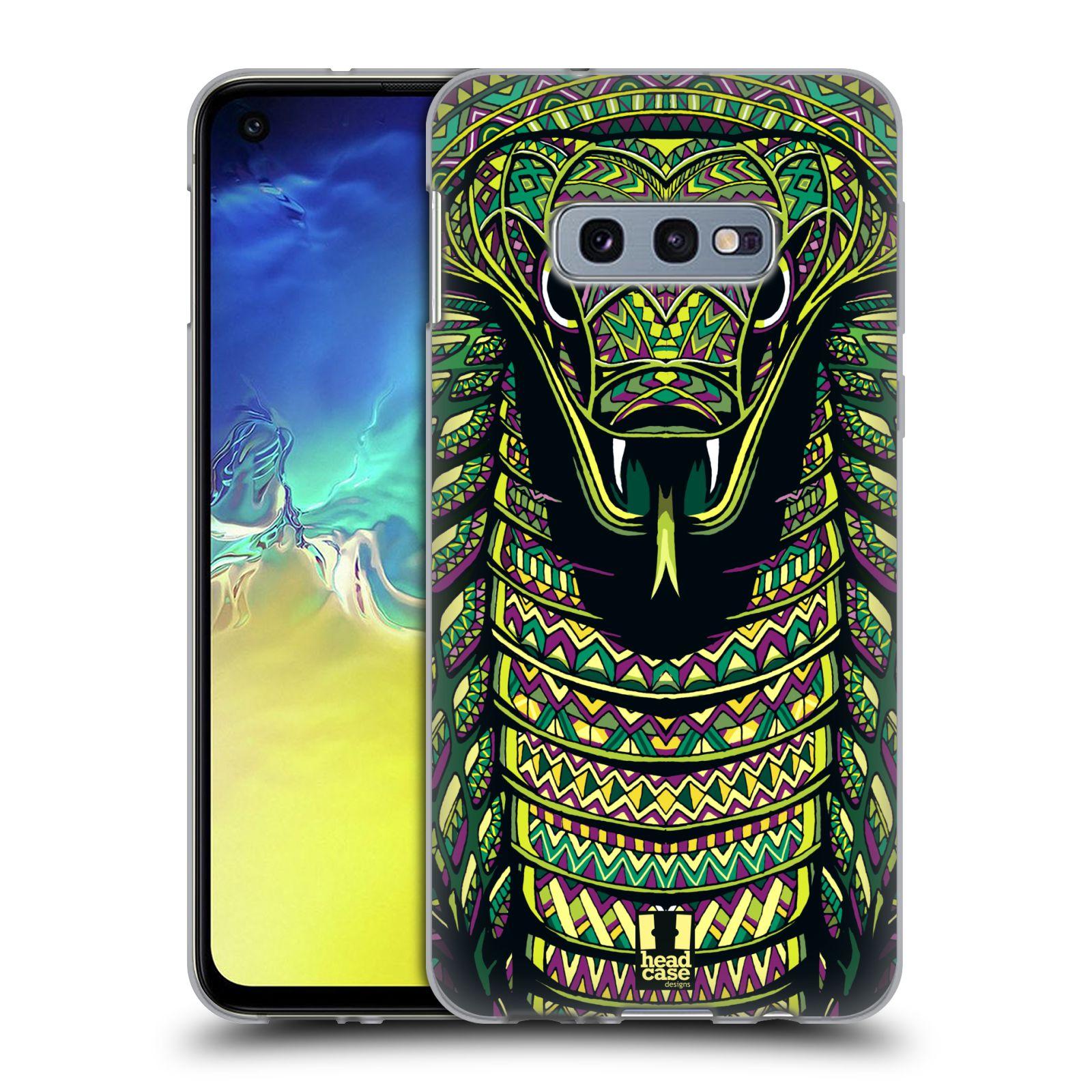 Silikonové pouzdro na mobil Samsung Galaxy S10e - Head Case - AZTEC HAD
