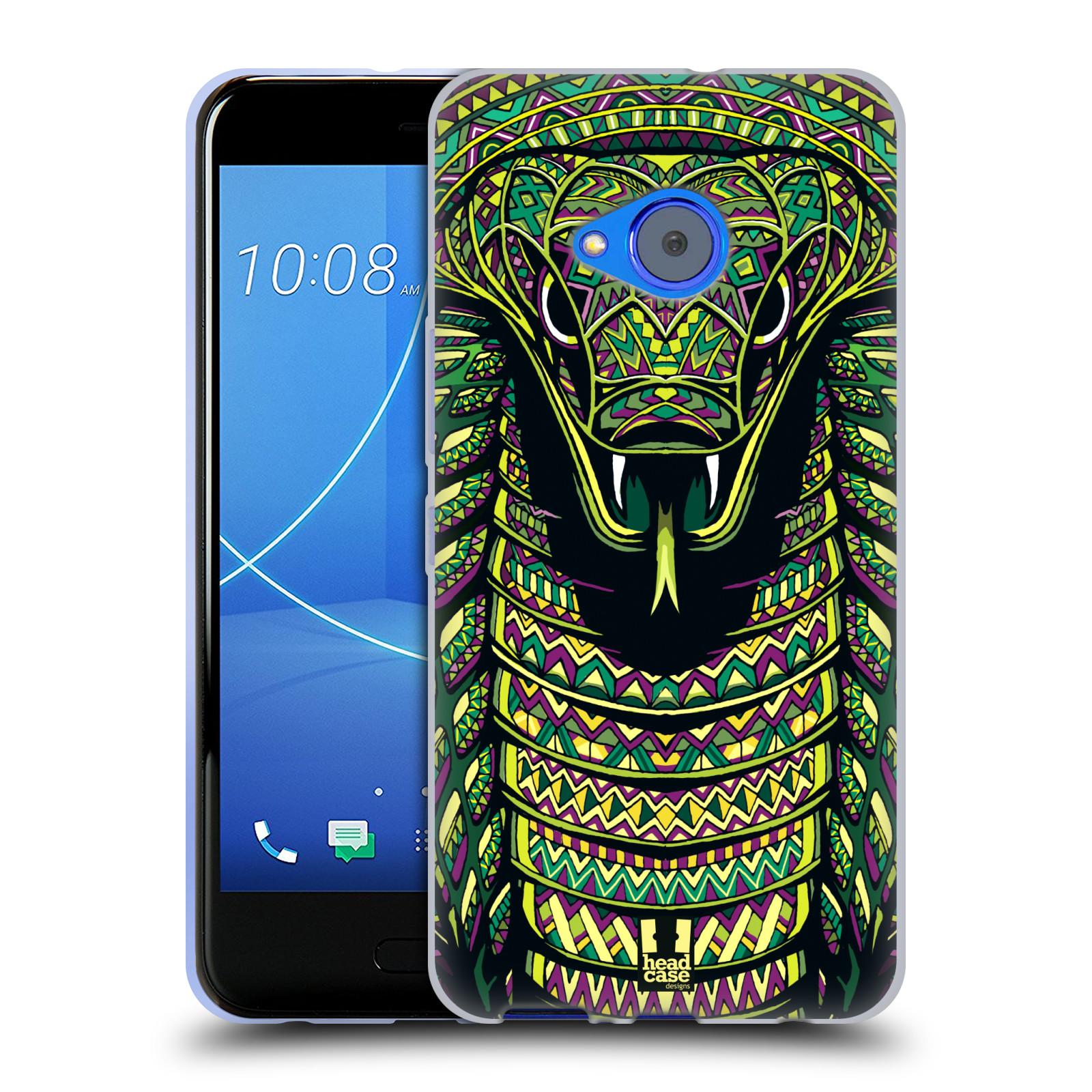 Silikonové pouzdro na mobil HTC U11 Life - Head Case - AZTEC HAD