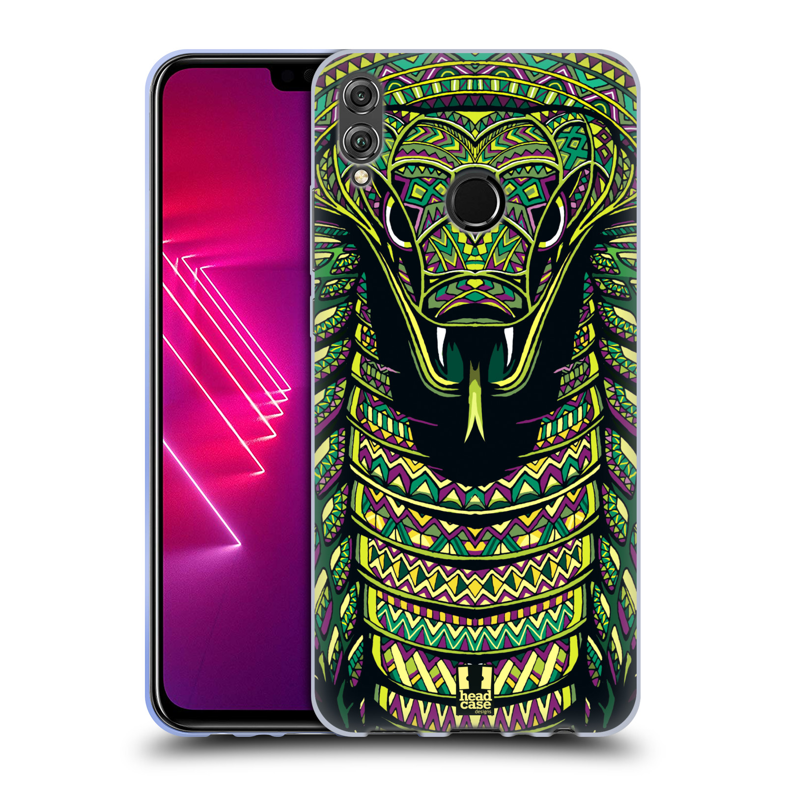 Silikonové pouzdro na mobil Honor View 10 Lite - Head Case - AZTEC HAD