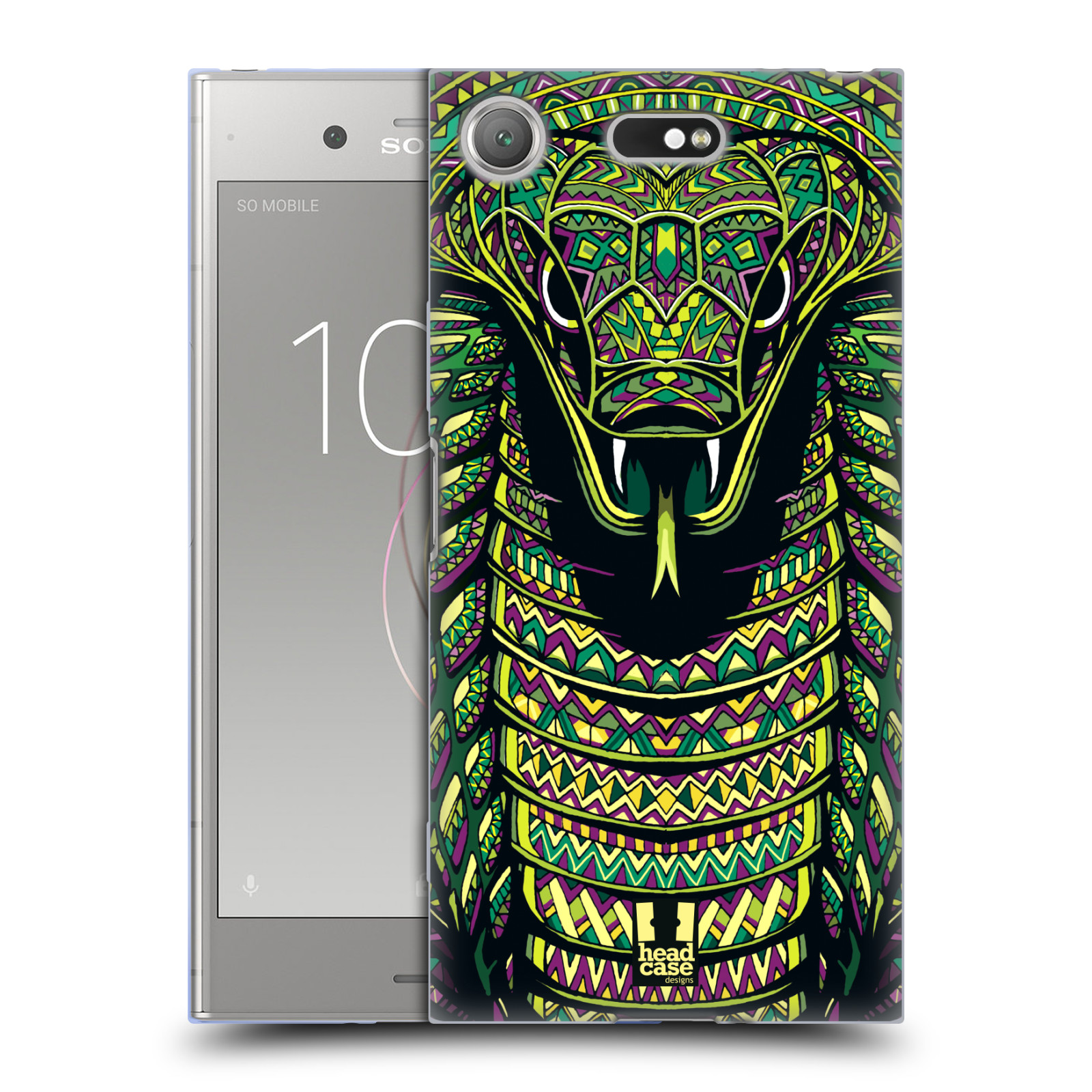 Silikonové pouzdro na mobil Sony Xperia XZ1 Compact - Head Case - AZTEC HAD