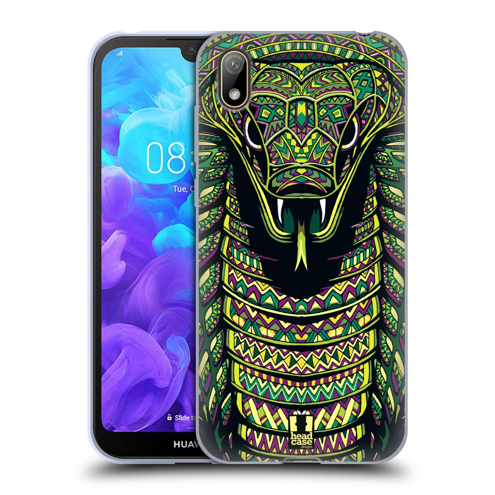 Silikonové pouzdro na mobil Huawei Y5 (2019) - Head Case - AZTEC HAD
