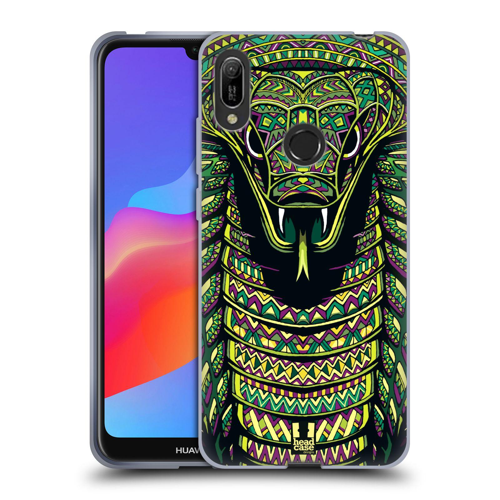 Silikonové pouzdro na mobil Huawei Y6 (2019) - Head Case - AZTEC HAD