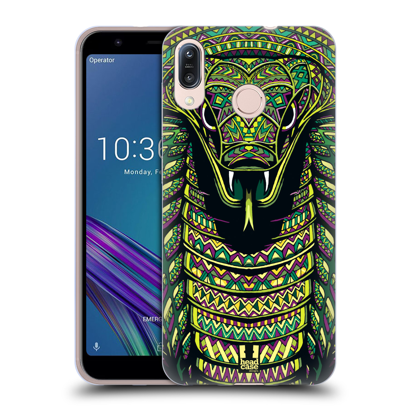 Silikonové pouzdro na mobil Asus Zenfone Max M1 ZB555KL - Head Case - AZTEC HAD