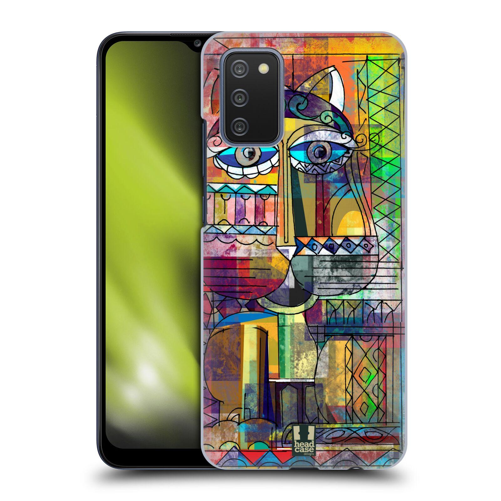 Plastové pouzdro na mobil Samsung Galaxy A02s - Head Case - AZTEC KORAT