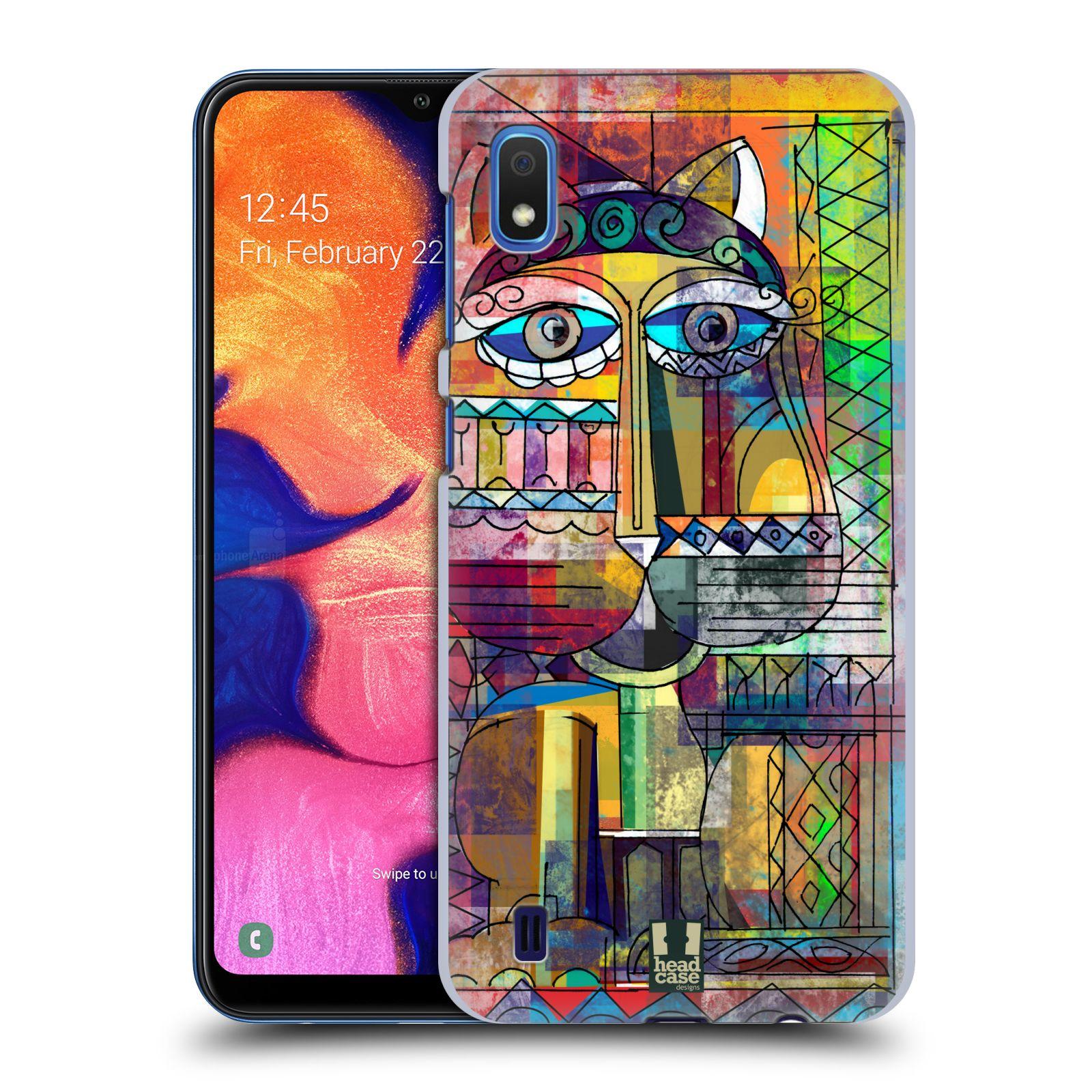 Plastové pouzdro na mobil Samsung Galaxy A10 - Head Case - AZTEC KORAT