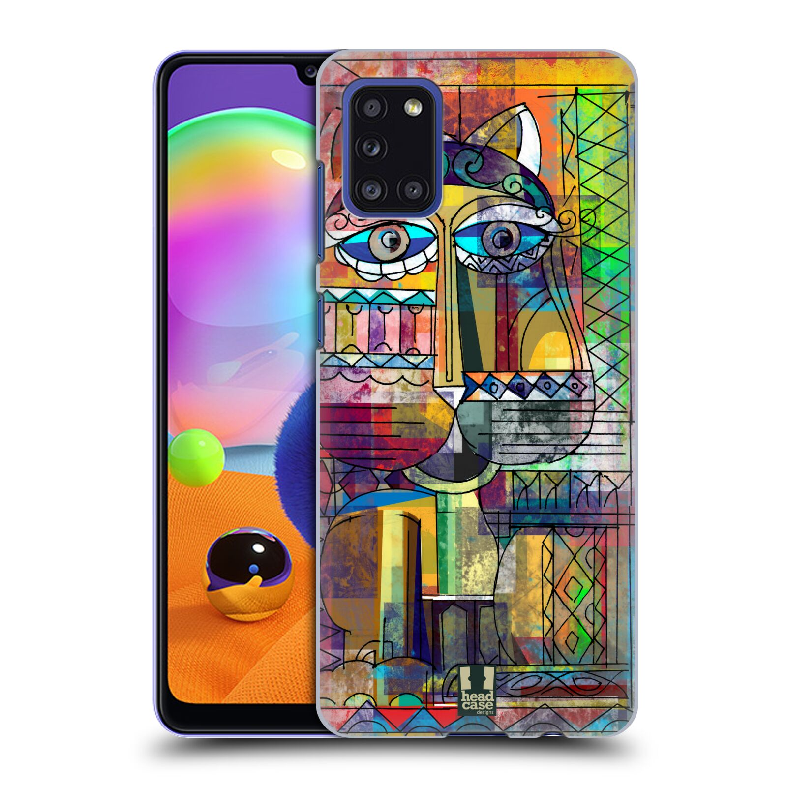 Plastové pouzdro na mobil Samsung Galaxy A31 - Head Case - AZTEC KORAT