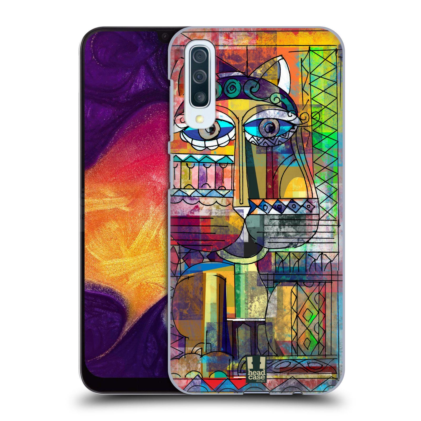 Plastové pouzdro na mobil Samsung Galaxy A50 - Head Case - AZTEC KORAT