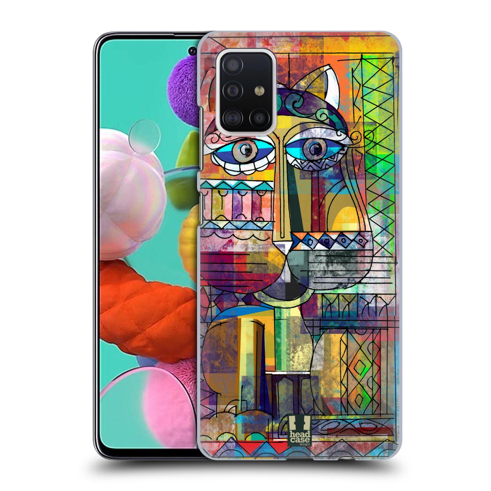 Plastové pouzdro na mobil Samsung Galaxy A51 - Head Case - AZTEC KORAT