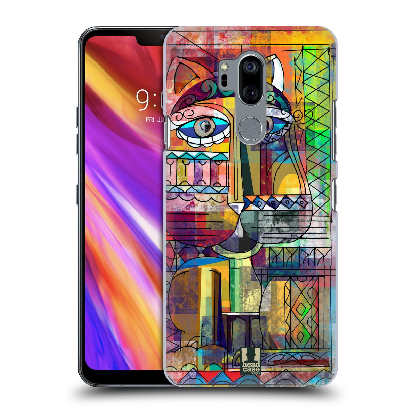 Plastové pouzdro na mobil LG G7 ThinQ - Head Case - AZTEC KORAT