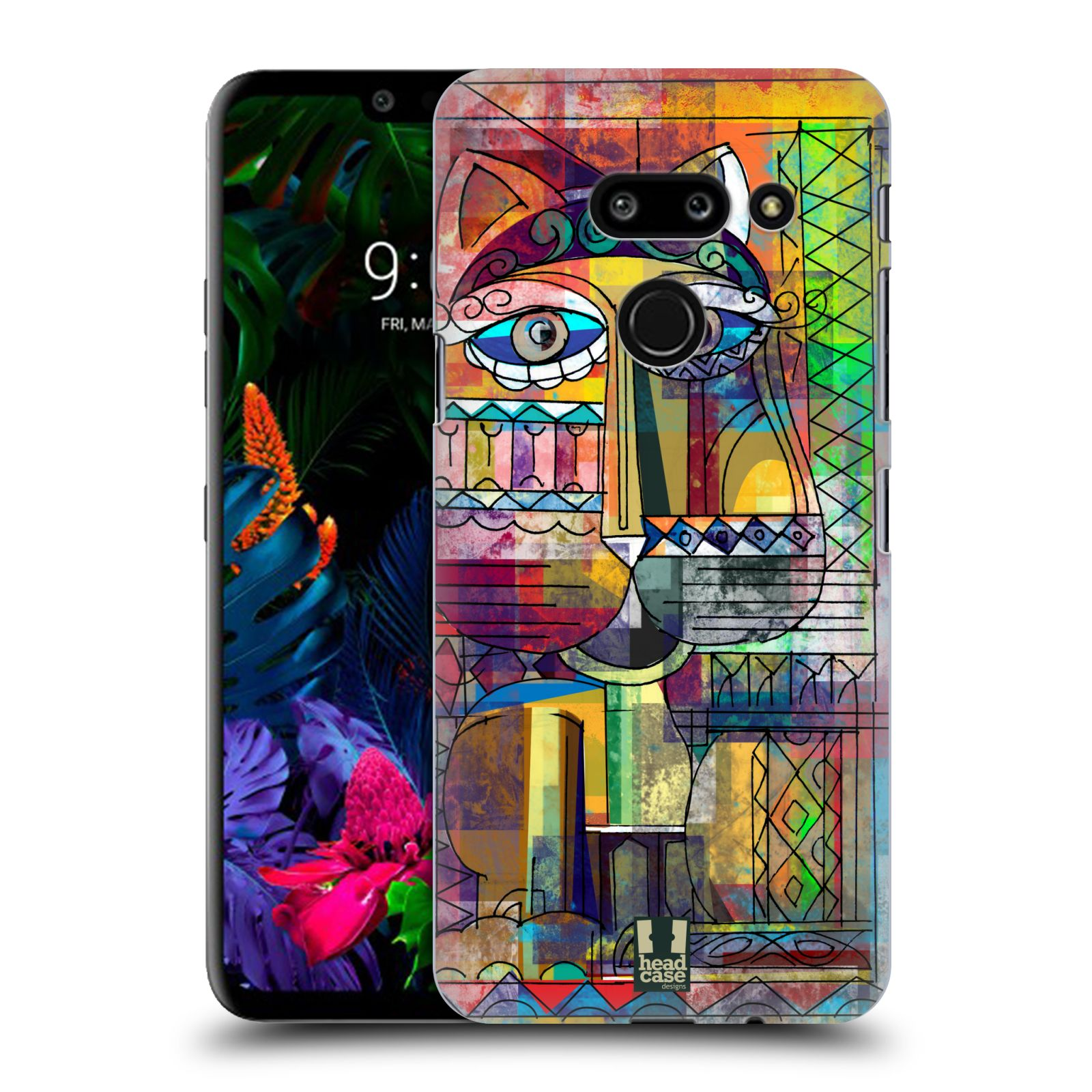 Plastové pouzdro na mobil LG G8 ThinQ - Head Case - AZTEC KORAT
