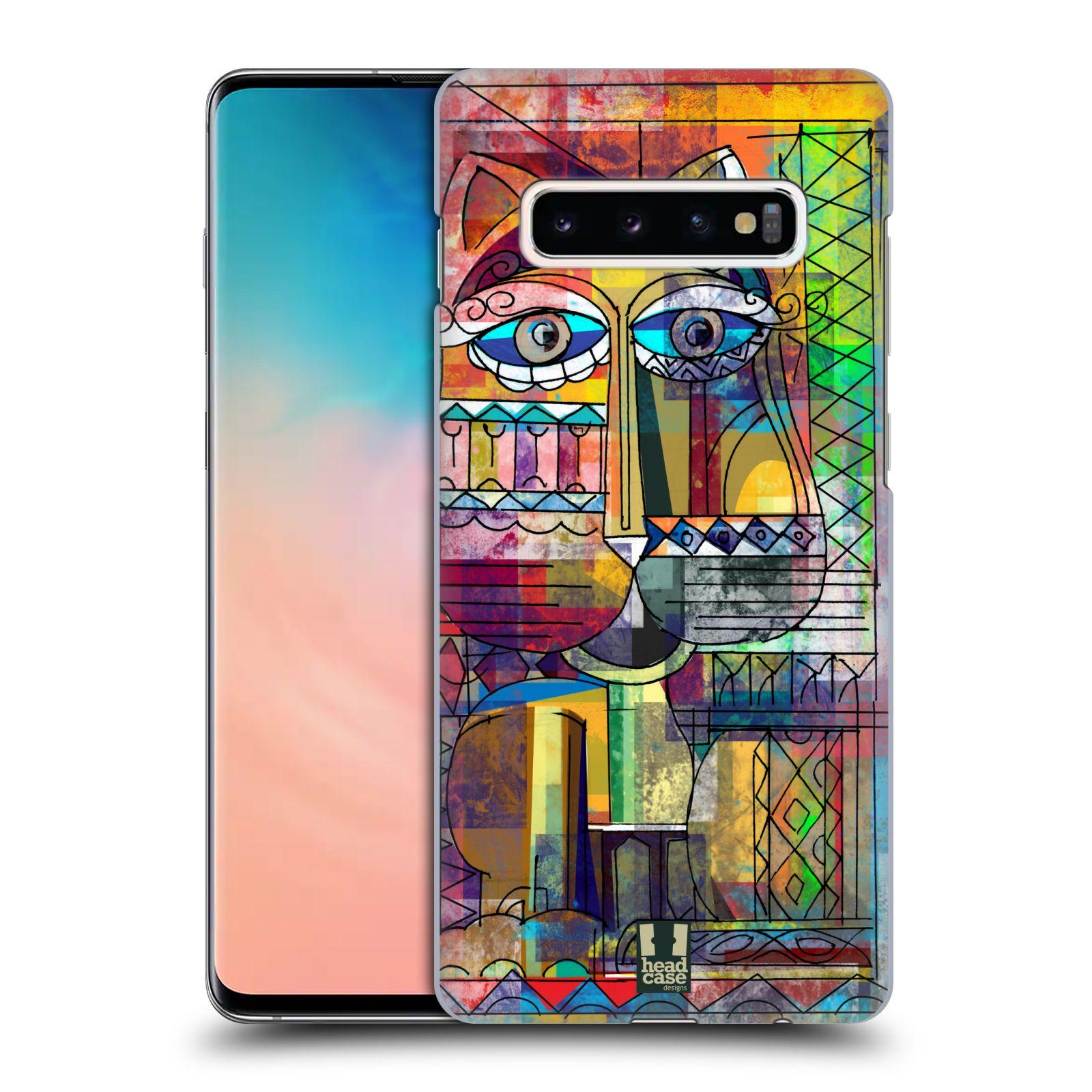 Plastové pouzdro na mobil Samsung Galaxy S10 Plus - Head Case - AZTEC KORAT