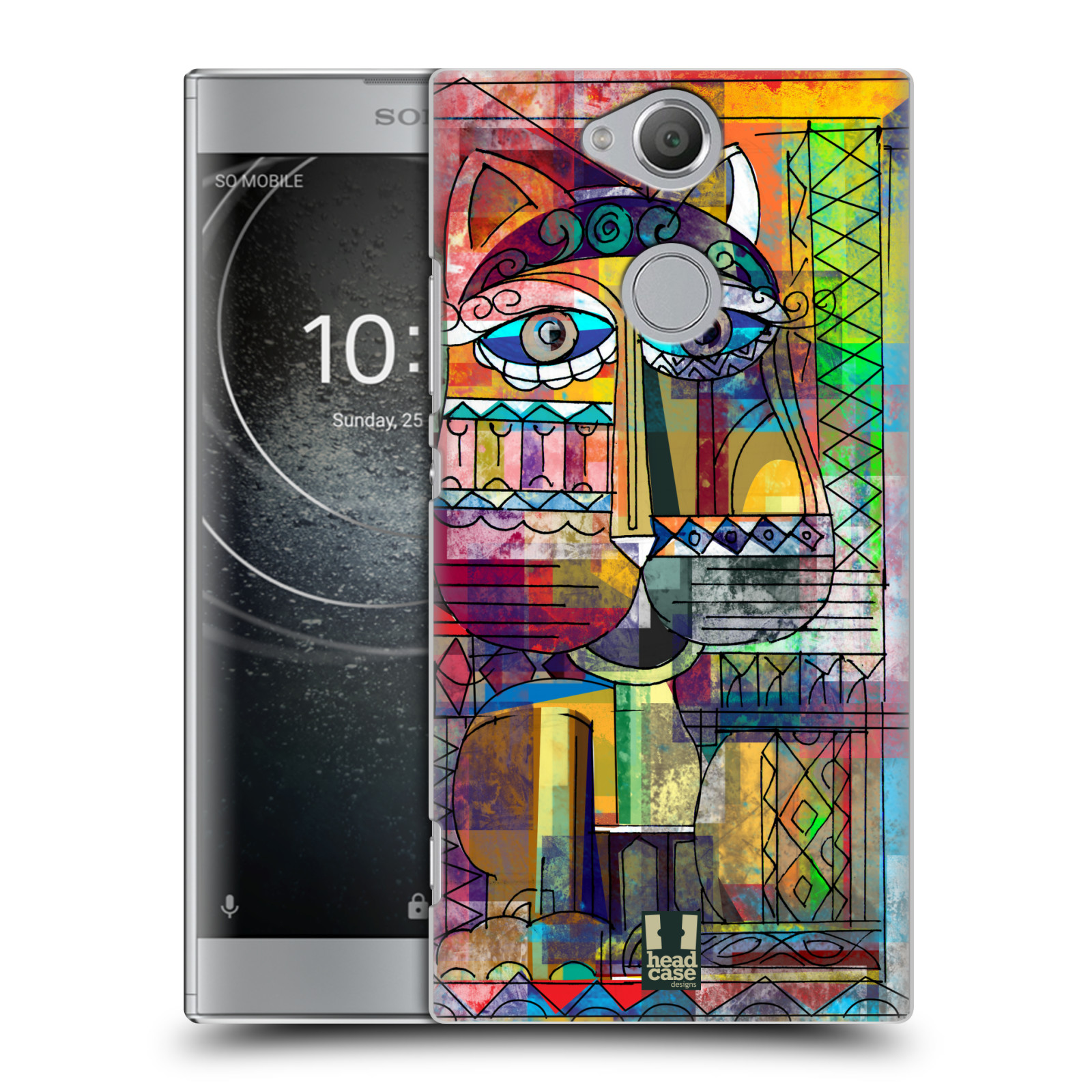 Plastové pouzdro na mobil Sony Xperia XA2 - Head Case - AZTEC KORAT