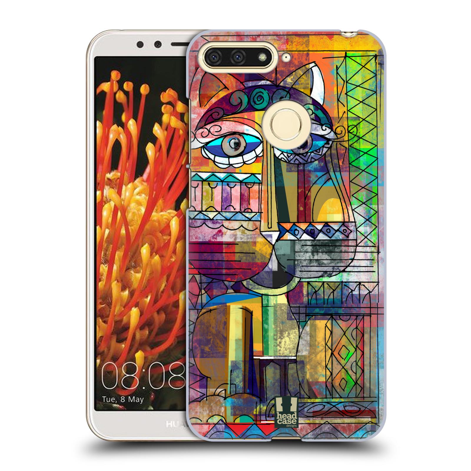 Plastové pouzdro na mobil Huawei Y6 Prime 2018 - Head Case - AZTEC KORAT