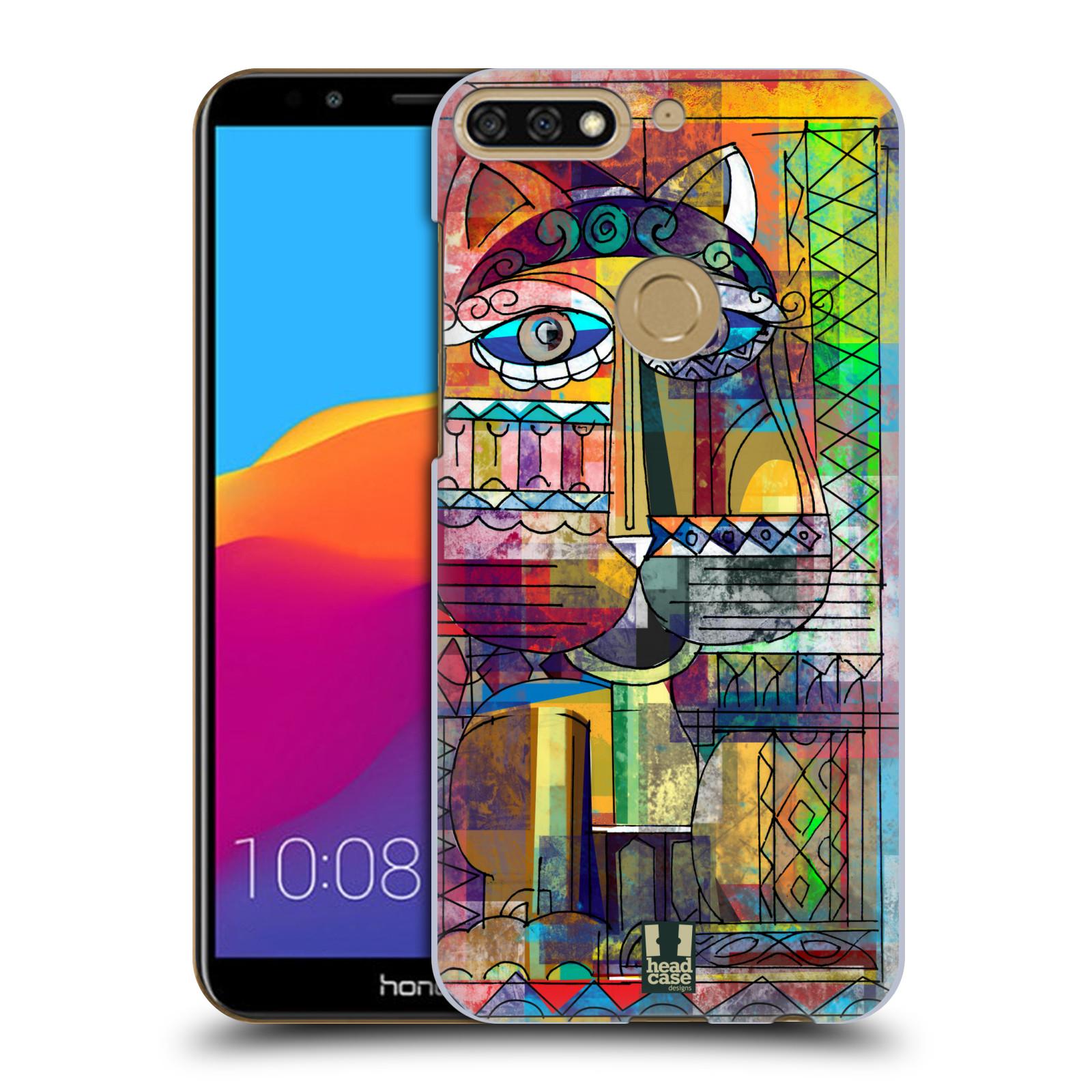 Plastové pouzdro na mobil Huawei Y7 Prime 2018 - Head Case - AZTEC KORAT
