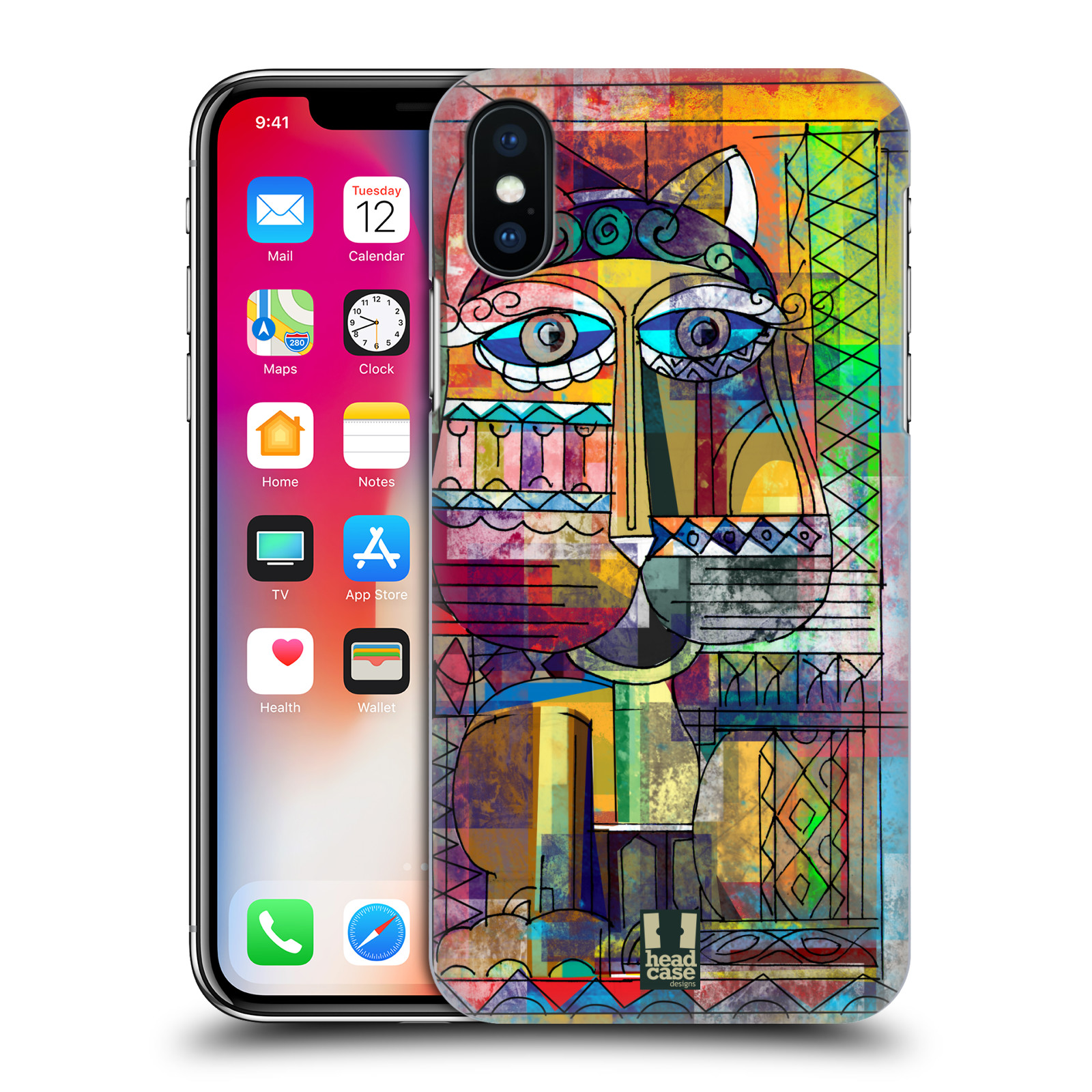 Plastové pouzdro na mobil Apple iPhone X - Head Case - AZTEC KORAT
