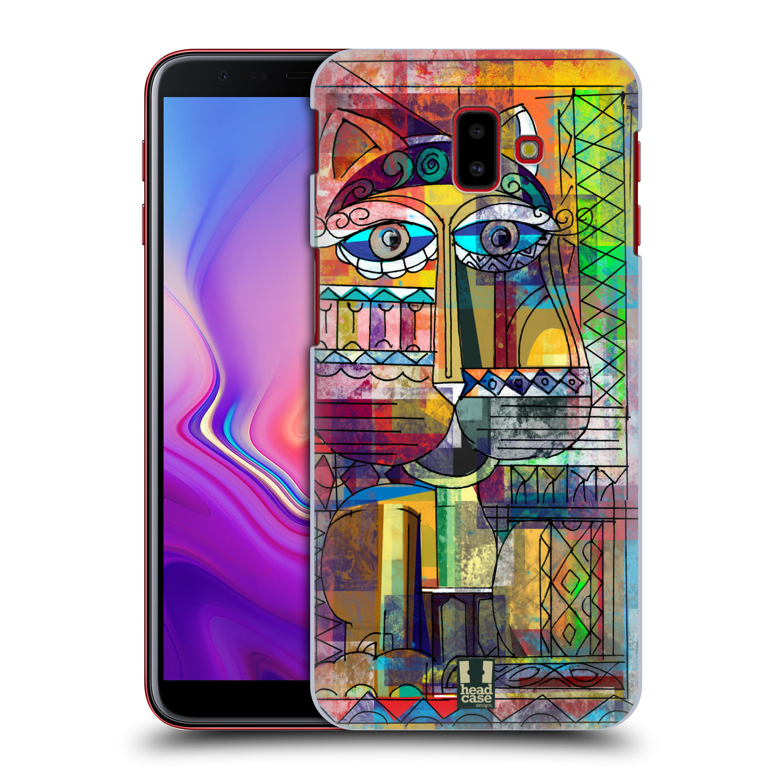 Plastové pouzdro na mobil Samsung Galaxy J6 Plus - Head Case - AZTEC KORAT