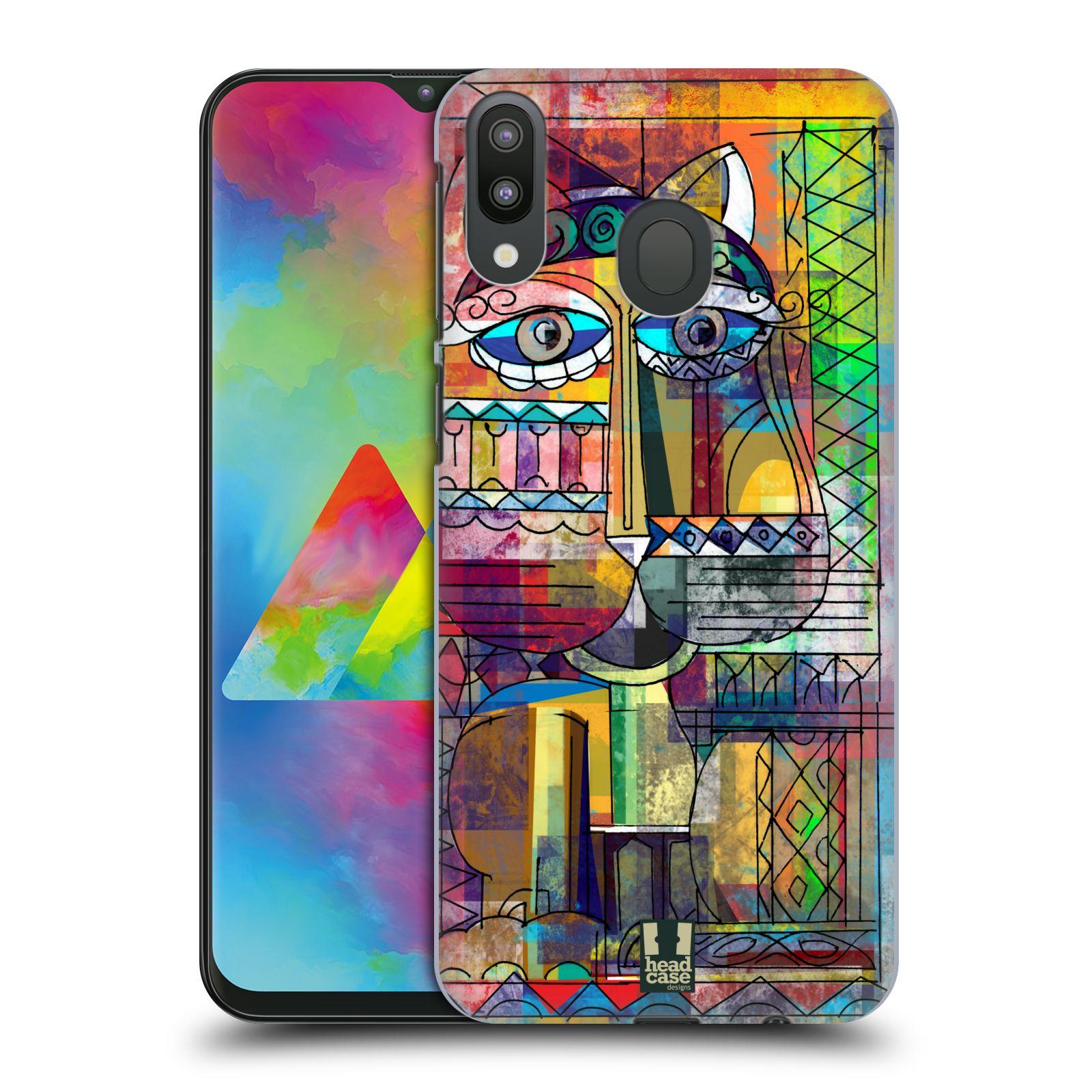 Plastové pouzdro na mobil Samsung Galaxy M20 - Head Case - AZTEC KORAT