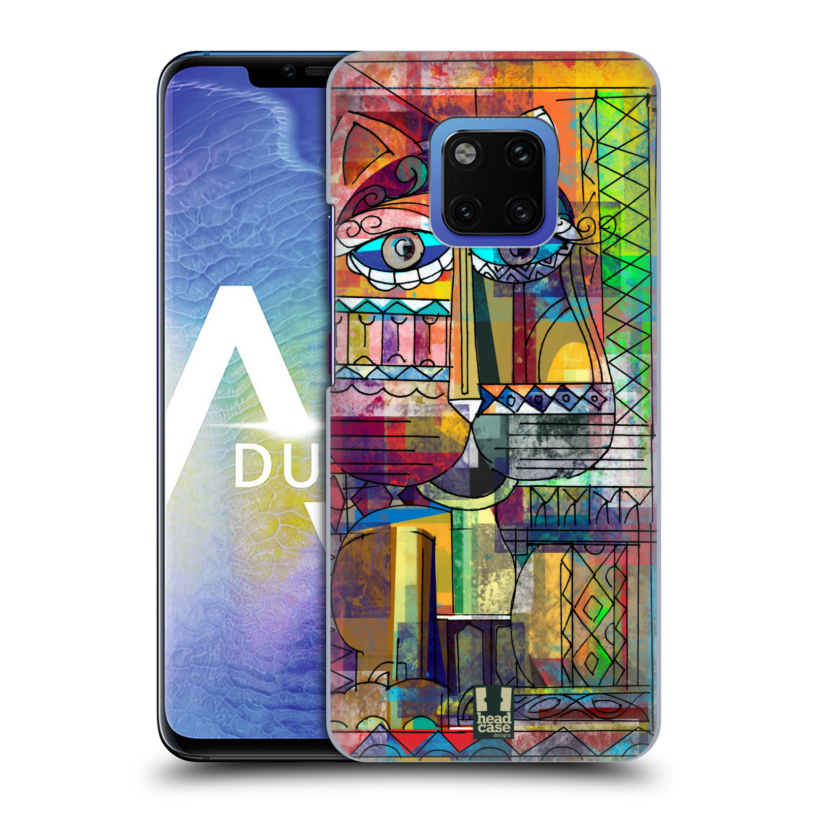 Plastové pouzdro na mobil Huawei Mate 20 Pro - Head Case - AZTEC KORAT