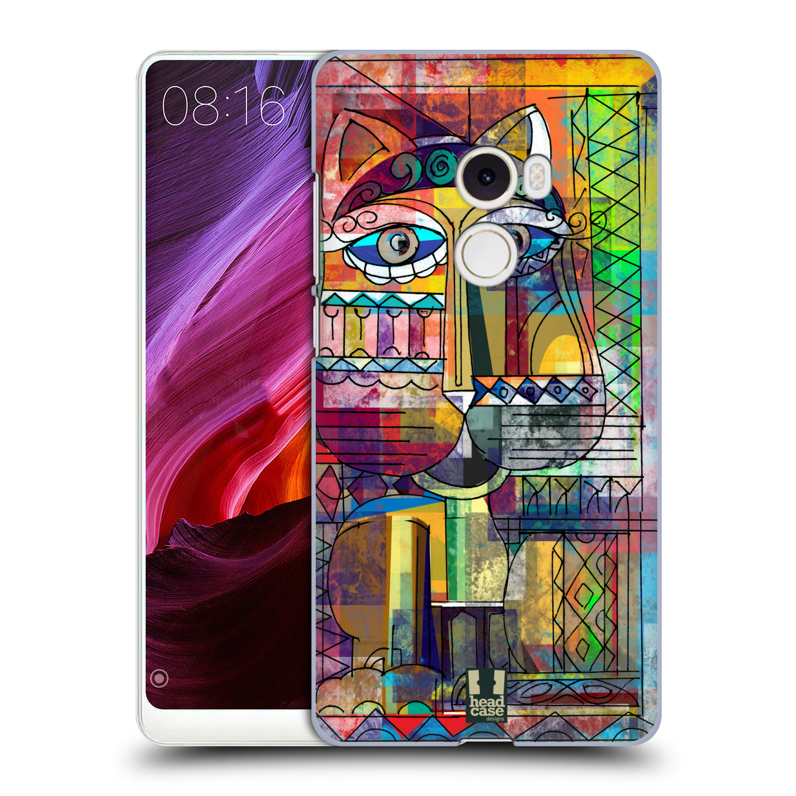 Plastové pouzdro na mobil Xiaomi Mi Mix 2 - Head Case - AZTEC KORAT