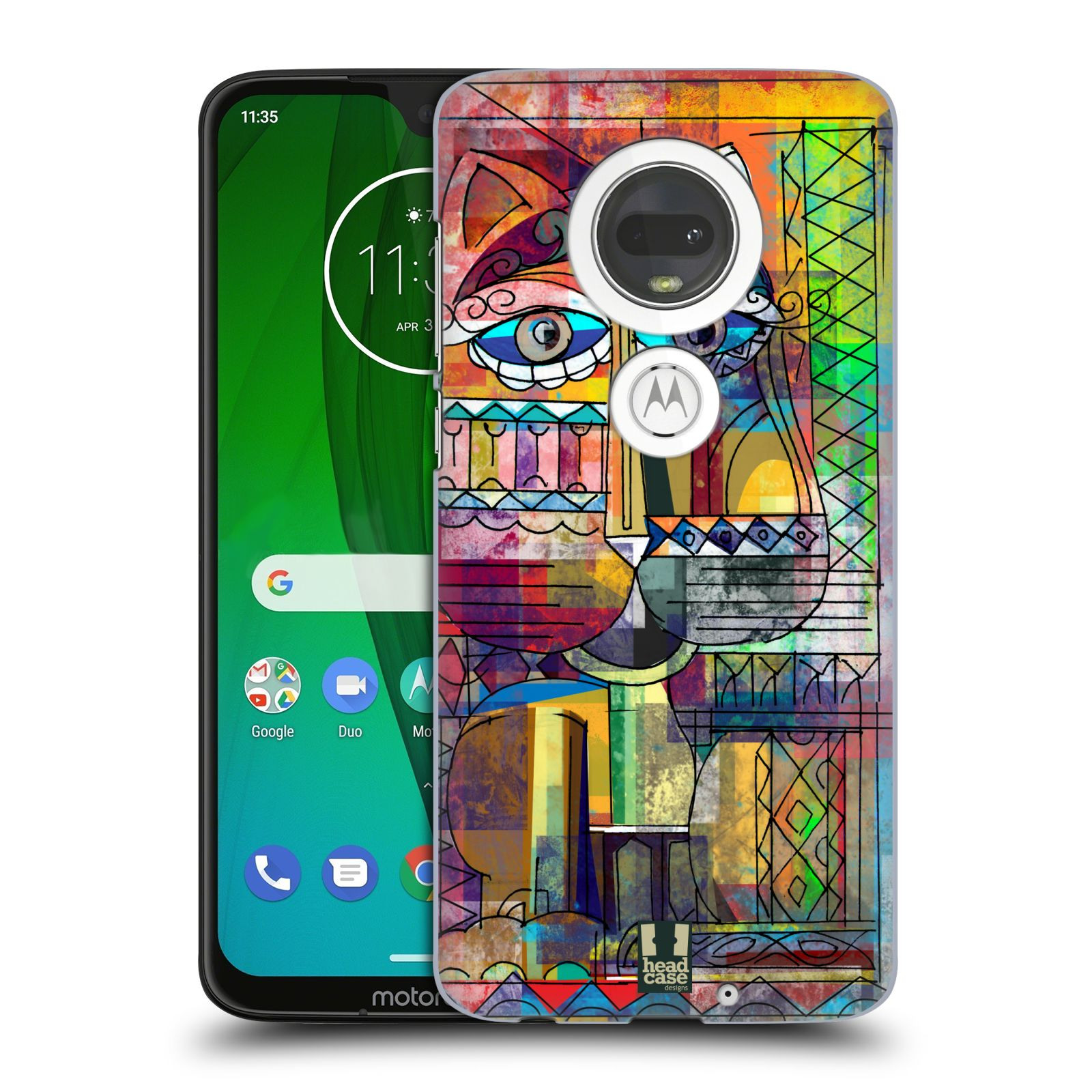 Plastové pouzdro na mobil Motorola Moto G7 - Head Case - AZTEC KORAT