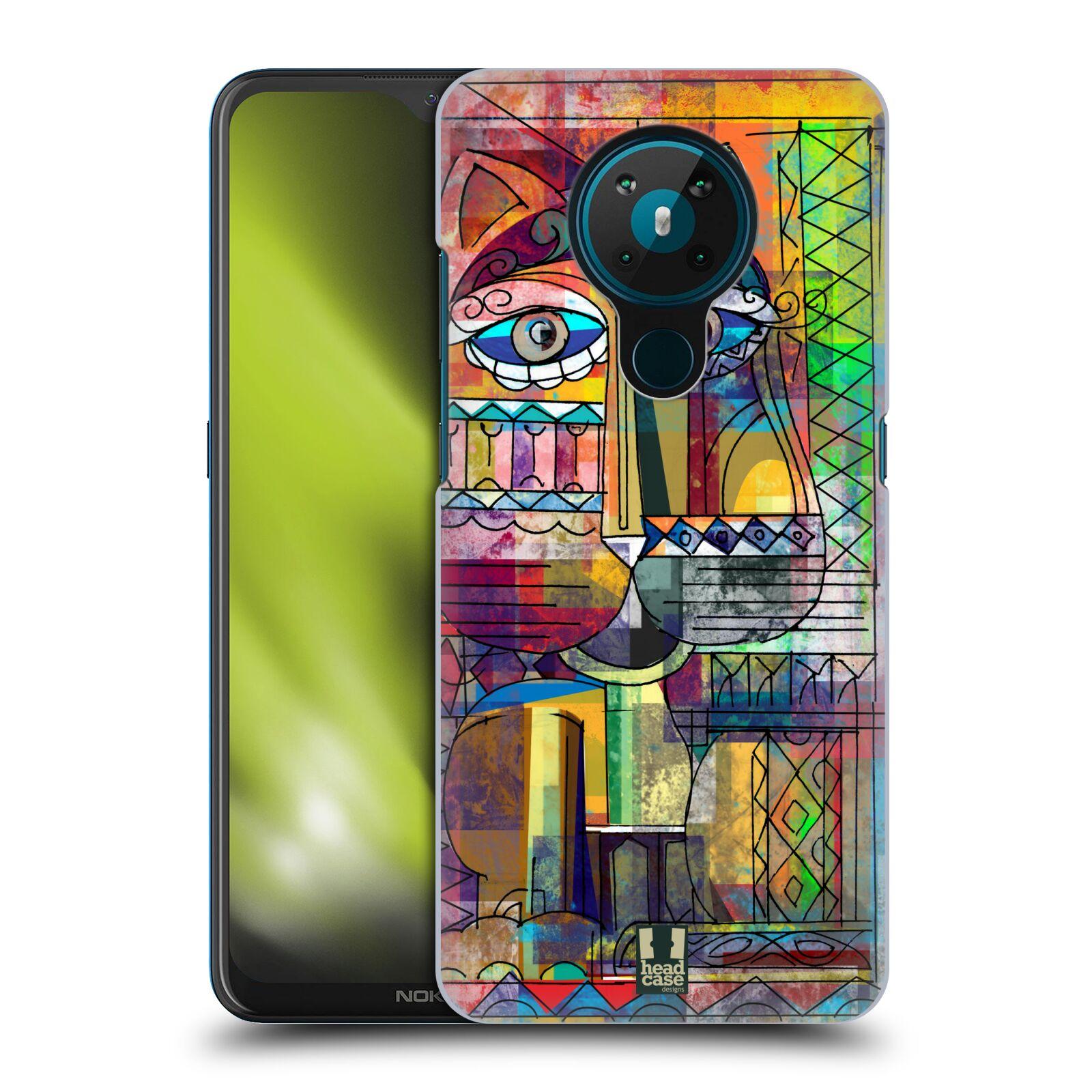 Plastové pouzdro na mobil Nokia 5.3 - Head Case - AZTEC KORAT