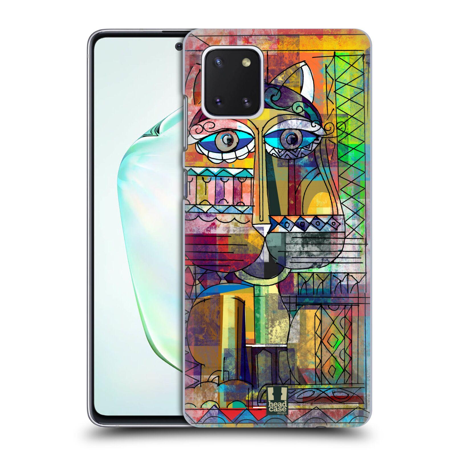 Plastové pouzdro na mobil Samsung Galaxy Note 10 Lite - Head Case - AZTEC KORAT