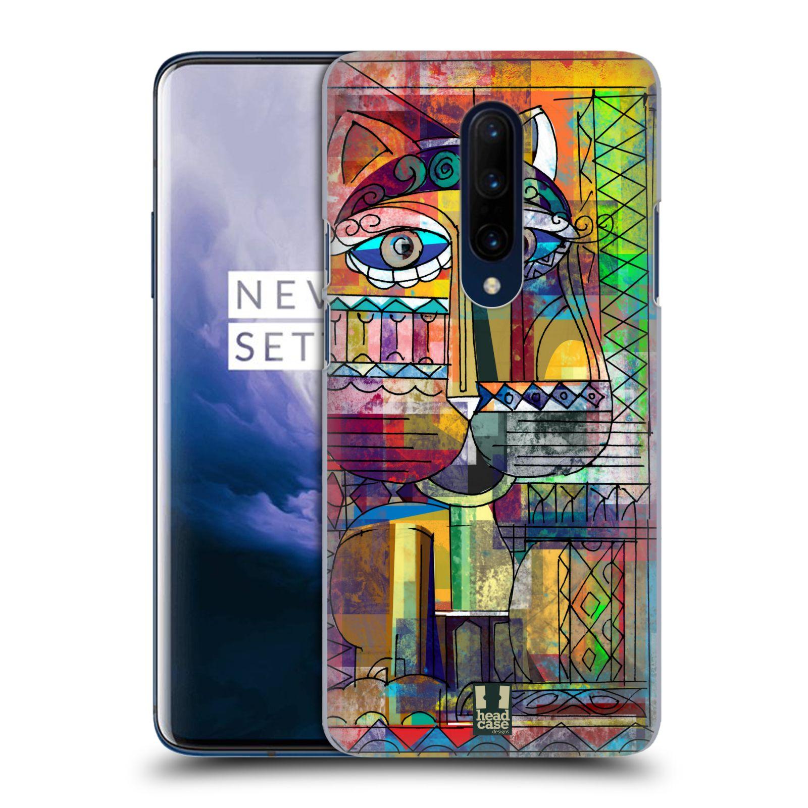 Plastové pouzdro na mobil OnePlus 7 Pro - Head Case - AZTEC KORAT