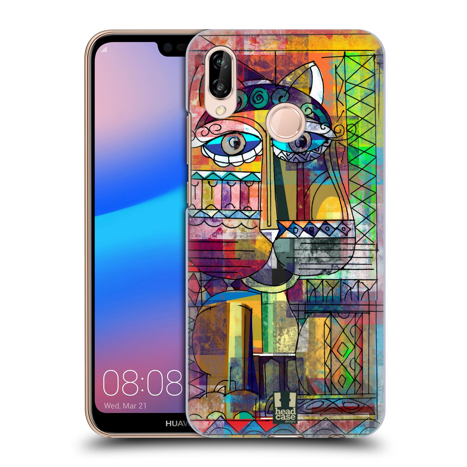 Plastové pouzdro na mobil Huawei P20 Lite - Head Case - AZTEC KORAT
