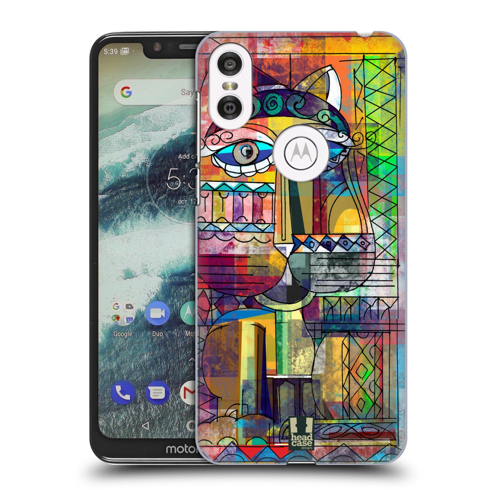 Plastové pouzdro na mobil Motorola One - Head Case - AZTEC KORAT