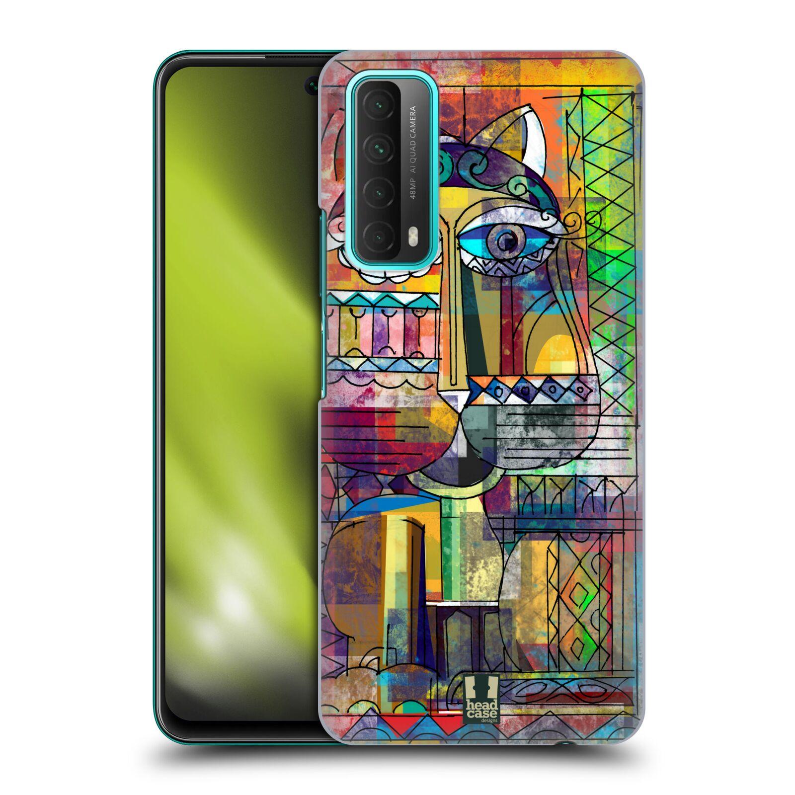 Plastové pouzdro na mobil Huawei P Smart (2021) - Head Case - AZTEC KORAT