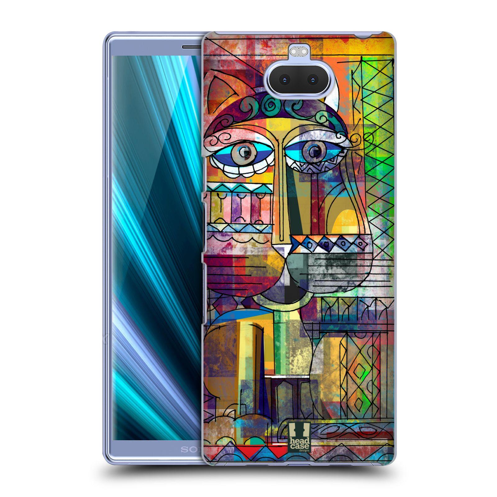 Plastové pouzdro na mobil Sony Xperia 10 Plus - Head Case - AZTEC KORAT