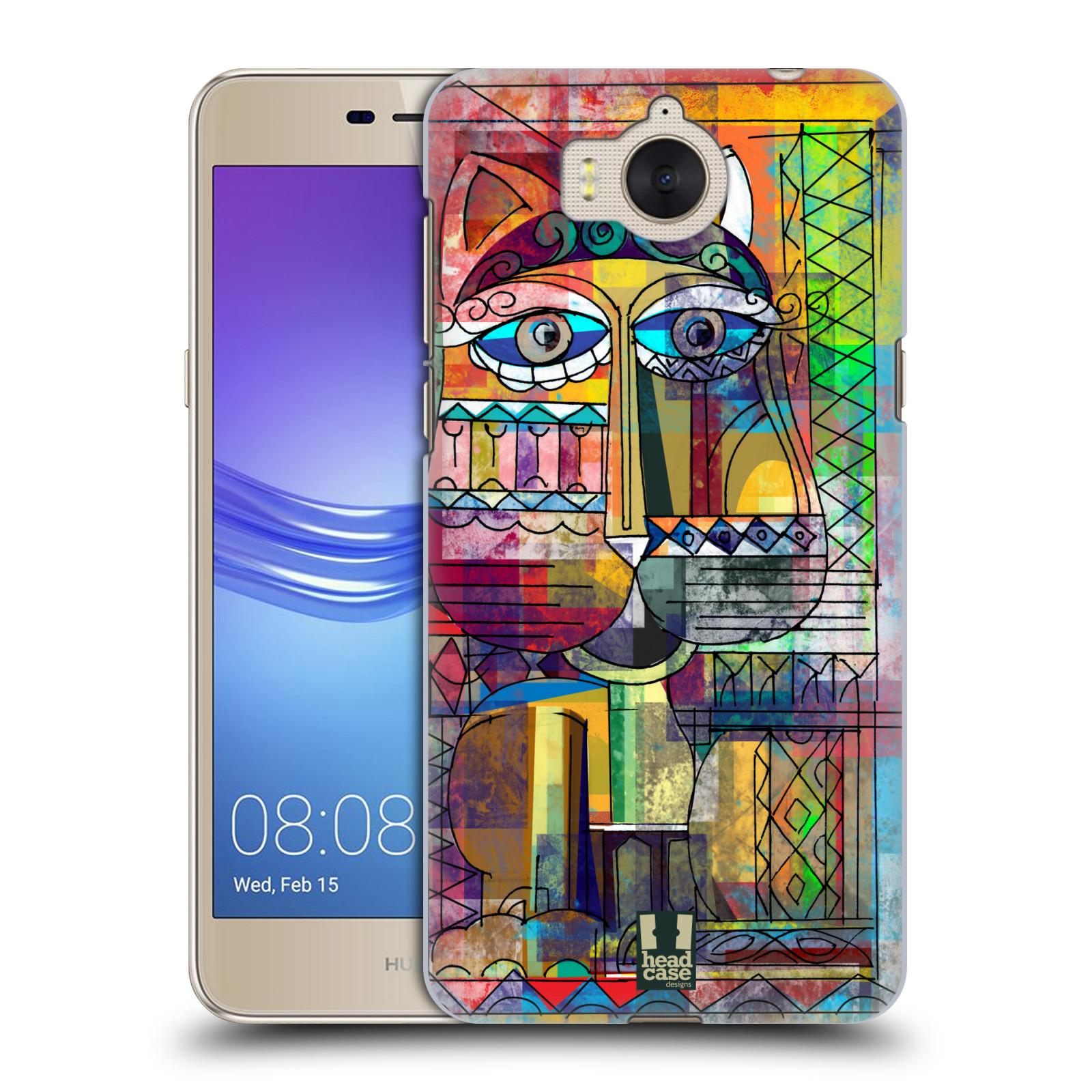 Plastové pouzdro na mobil Huawei Y6 2017 - Head Case - AZTEC KORAT