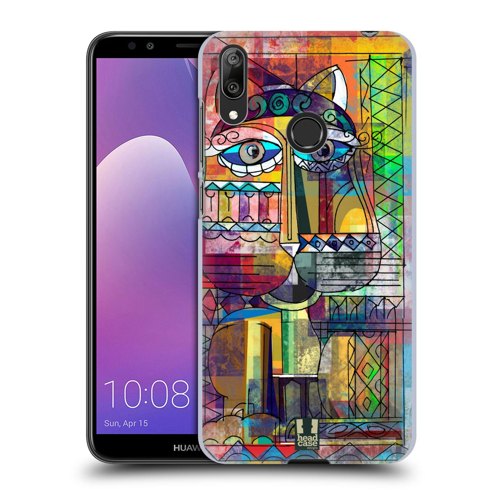 Plastové pouzdro na mobil Huawei Y7 (2019) - Head Case - AZTEC KORAT
