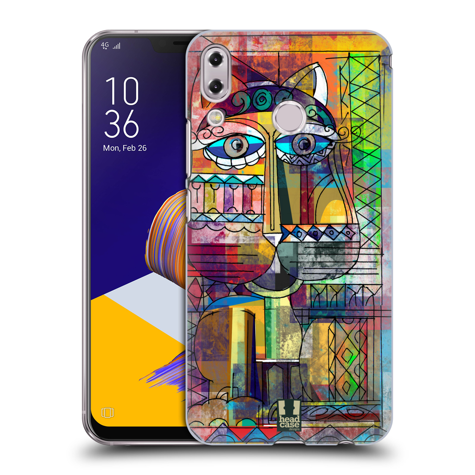 Plastové pouzdro na mobil Asus Zenfone 5z ZS620KL - Head Case - AZTEC KORAT