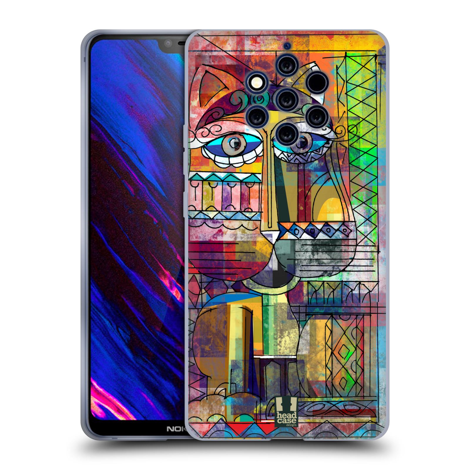 Silikonové pouzdro na mobil Nokia 9 PureView - Head Case - AZTEC KORAT