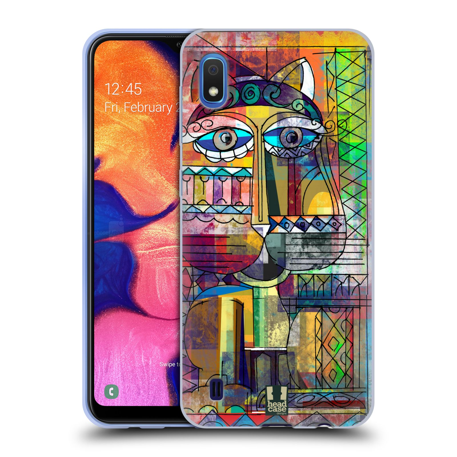 Silikonové pouzdro na mobil Samsung Galaxy A10 - Head Case - AZTEC KORAT