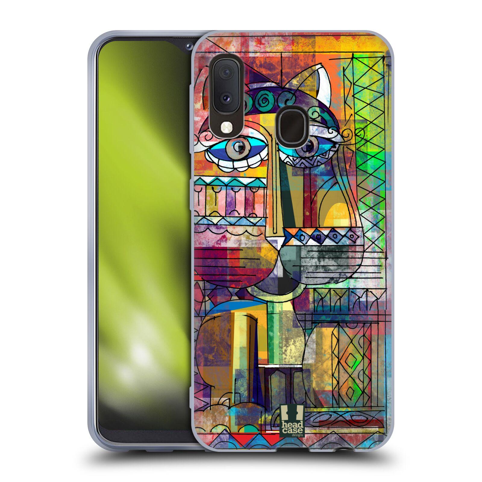 Silikonové pouzdro na mobil Samsung Galaxy A20e - Head Case - AZTEC KORAT